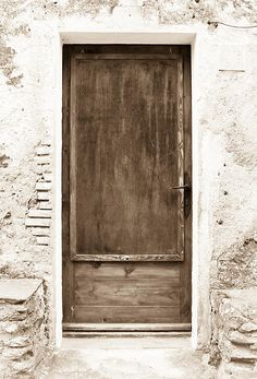 Brown Door of Extremadura was taken in Alburquerque, España, on the border of Portugal.