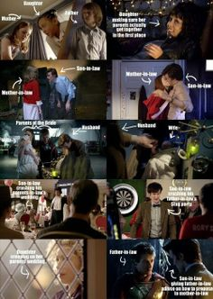 SPOILERS: When you put it that way...  Doctor Who weirdness - love it! So much weirdness!!