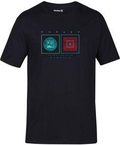Hurley Men's Blocks From The Beach T-Shirt