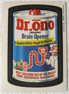 The third series of the 1973 edition of Topps Wacky Packages stickers.