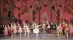 "Members of New York City ballet performing ""George Balanchine's The Nutcracker"" in City Ballet, Ballet Class, John Cranko, Nutcracker Costumes, Ballet Images, Ballet Performances, George Balanchine, American Ballet Theatre, Nureyev"