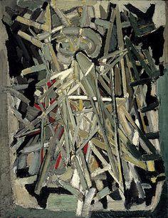 Stael, Nicolas de (1914-1955) - 1946 Flash of Lightning (National Galleries of Scotland, Edinburgh)
