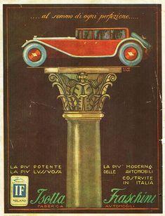 Isotta Fraschini | Vintage Italian Luxury Cars