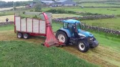 Single chop silage making in Tourmakeady. Four tractors and a fork. Tractors, Outdoor Power Equipment, Fork, How To Make, Tractor