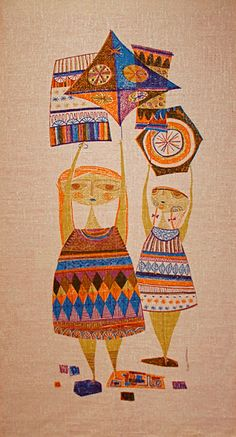 MID-CENTURIA : Art, Design and Decor from the Mid-Century and beyond: Evelyn Ackerman Tapestries I