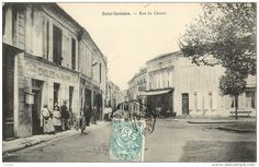 vinolie sells an item for until Monday, 25 May 2020 at CEST in the Unclassified category on Delcampe Centre, French Postcards, 24. August, Rue, Saints, Street View, Travel