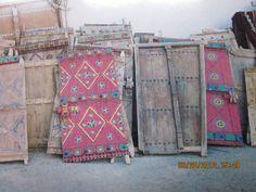 Doors at the Souk in Hofuf, Saudi Arabia