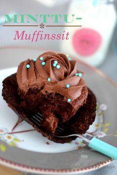 Pullahiiren leivontanurkka (pipar)minttu muffinsit