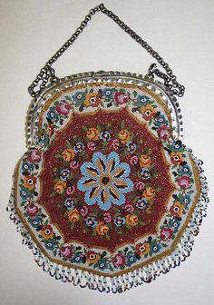 1820-1830 French Bag at the Metropolitan Museum of Art, New York