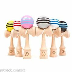 Kendama USA Tribute Kendama -Triple Stripes Japanese Wooden Skill Toy Brand NEW