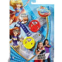 """DC Super Hero Girls Walkie Talkies - Mattel Girls - Toys """"R"""" Us"""