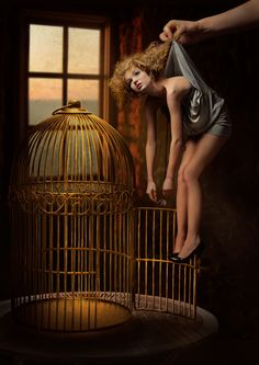 ~Once upon a time there was a wicked witch who caught the beautiful fairy.....