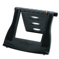 Kensington SmartFit Easy Riser Laptop Cooling Stand The Easy Riser lifts your notebook to promote airflow, reducing strain on the notebook battery and circuitry. It also raises the monitor to increase your comfort. Foot Pressure Points, Macbook, Laptop Cooling Stand, Monitor, Tilt Angle, Laptop Cooler, Kensington, Smart Fit, Cat Stands