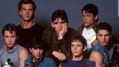 "See behind-the-scenes photos from ""The Outsiders,"" a 1983 film based on the S. Check out the behind-the-scenes photos of ""The Outsiders,"" a 1983 film released on the film S. Many of the young actors later became well-known names. The Outsiders Imagines, The Outsiders 1983, Matt Dillon The Outsiders, Rob Lowe The Outsiders, Emilio Estevez, Iconic Movies, Old Movies, Dallas Winston, Ralph Macchio"