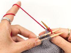Strickteile verbinden – Teil 1: Zusammenstricken und gemeinsam Abketten   buttinette Blog