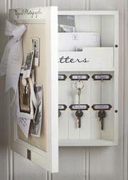 Diy Home Decor Storage Shelves Small Spaces Ideas Mail Storage, Key Storage, Hidden Storage, Secret Storage, Storage Design, Office Storage, Craft Storage, Storage Shelves, Storage Spaces