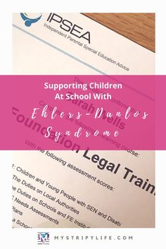 Supporting a child at school with EDS