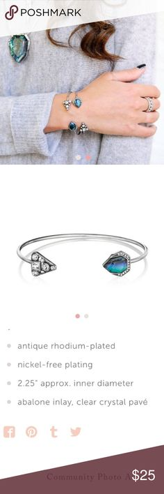 Chloe and Isabel Northern Lights Open Cuff I am a chloe and isabel merchandiser. This is New with Tags from my boutique! All information is in the picture I posted, but if you have any questions, feel free to ask! Chloe + Isabel Jewelry Bracelets