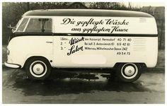 VW typ 2. Década de 1950