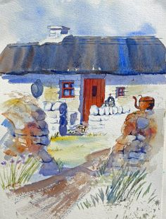 WATERCOLOURS BY POLLY BIRCHALL Anglesey