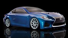 Associated APEX Lexus® RC F Brushless 4WD RTR LiPo Combo - Blue Body