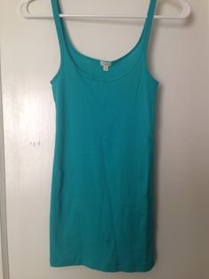 J. Crew blue tank (layering or jammies only)