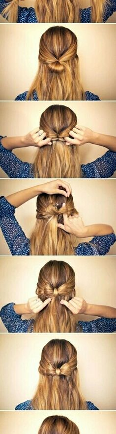 Image de hair, hairstyle, and bow