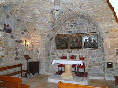 House of Saint Ananias(Chapel of Saint Ananias) ~ located in oldChristian quarter ofDamascus,Syria, said to be house where Ananias baptized Saul (who becamePaul the Apostle.