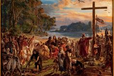 Historical Facts about the Baptism of Poland Jan Matejko, Introduction of Christianity, photo: Wikimedia Commons Poland History, Poland Travel, Les Religions, European Paintings, Great Paintings, National Museum, Great Artists, Pagan, National Geographic
