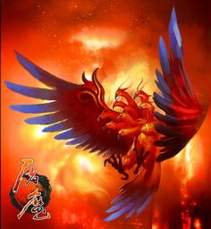 Nine headed Pheonix- Chinese myth: an early version of the Phoenix that was abolished after the fall of a kingdom.