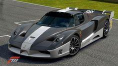 Ferrari FXX de Ge Fou dans la vitrine de Forza Motorsport 3 Forza Motorsport 3, Ferrari Fxx, Maserati, True Car, Dream Cars, Vehicles, Board, Glass Display Case, Videogames