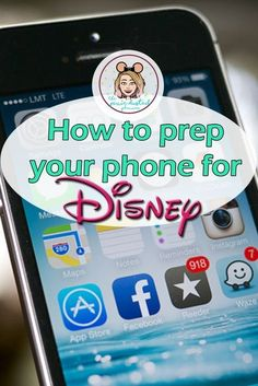 How to Prep Your Phone for a Disney Trip - Social Media Collections Disney World Vacation Planning, Disneyland Vacation, Disneyland Tips, Walt Disney World Vacations, Disney Planning, Vacation Ideas, Family Vacations, Trip Planning, Family Travel