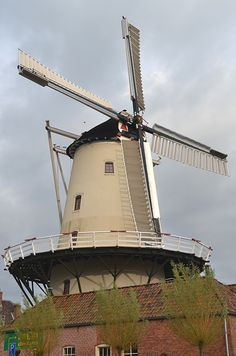Flour mill De Hoop, Haren, the Netherlands