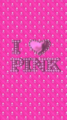 I Love Pink wallpaper