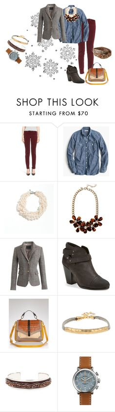 """""""Untitled #344"""" by llsdenver on Polyvore featuring KUT from the Kloth, J.Crew, rag & bone, Tory Burch and Shinola"""
