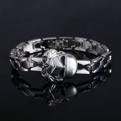 Star Wars Bracelet Darth Vader Chain Buckle Bangle Bracelet Unisex Gift