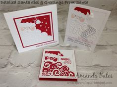 Detailed Santa - The Red Trio