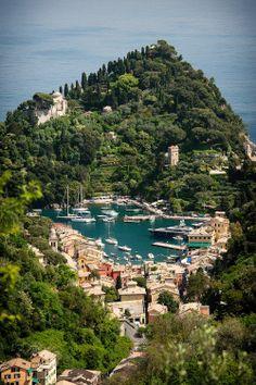 wanderthewood:   Portofino, Liguria, Italy by...