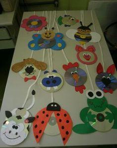 cd animals craft idea      Crafts and Worksheets for Preschool,Toddler and Kindergarten