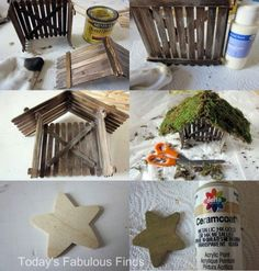 For Grandmothers that need Christmas craft ideas: Today's Fabulous Finds: Craft Stick and Clay Pot Children's Nativity Set {Tutorial}. Noel Christmas, Christmas Crafts For Kids, All Things Christmas, Winter Christmas, Holiday Crafts, Christmas Gifts, Christmas Decorations, Christmas Ornaments, Christmas Nativity Scene