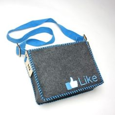 DIY Like Icon Wool Felt Shoulder Bag