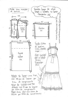 Amazing Sewing Patterns Clone Your Clothes Ideas. Enchanting Sewing Patterns Clone Your Clothes Ideas. Sewing Dress, Diy Dress, Sewing Clothes, Refashion Dress, Diy Clothes Refashion, Clothing Patterns, Sewing Patterns, Costura Fashion, Clubbing Outfits