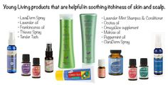 Essential Oil Options for Itching (skin and scalp) http://blog.younglivingcircle.com/2013/03/14/essential-oil-options-for-itching/