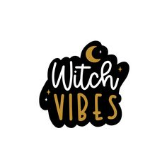 Witch Vibes Sticker