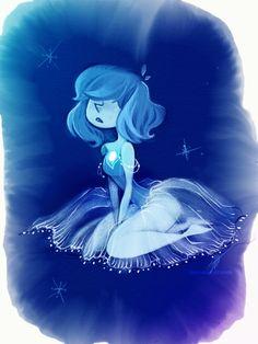 Image about blue in steven universe by july mtz Pearl Fanart, Cartoon Network, Perla Steven Universe, Pearl Steven, Universe Art, Couple Art, Disney Fan Art, The Last Airbender, At Least