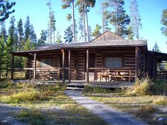 On an October visit to Grand Teton National Park in Wyoming, we stayed in a cabin at Signal Mountain Lodge.