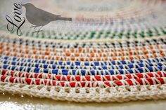 Love The Blue Bird: crochet