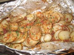 Hot-Off-The-Grill-Potatoes (Foil Wrapped). Photo by TheGrumpyChef