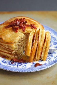 メープルバターパンケーキの作り方