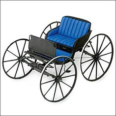 """1880's Rural Doctor's Buggy.  """"All the world will fly in a flurry, When I take you out in the surrey"""""""